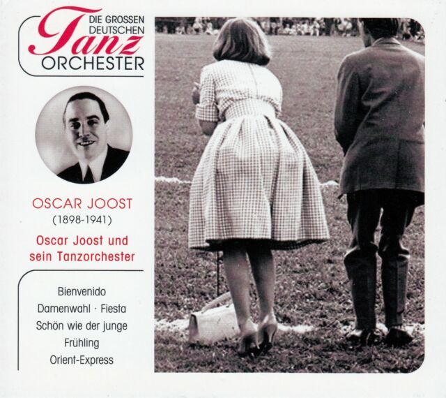 OSCAR JOOST UND SEIN TANZORCHESTER / CD - TOP-ZUSTAND