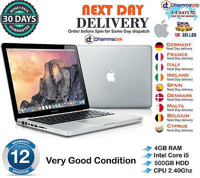 "Usado, Apple MacBook Pro 13.3"" Intel Core i5 2.4GHz 4GB RAM 500GB HDD Late 2011 B+Grade segunda mano  Embacar hacia Argentina"