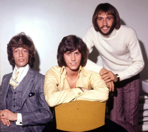THE BEE GEES - MUSIC PHOTO #E-80