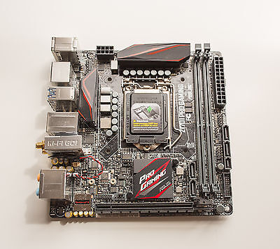 Asus Z170i Pro Gaming - Mini ITX Motherboard!! SO COOL!!