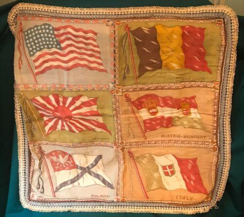 Antique Flannel Cushion Cover Pillow Case