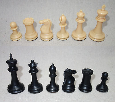 USCF Sales The Marshall Library Plastic Chess Set - Pieces and Vinyl Board