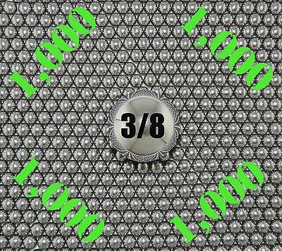 38 Inch Slingshot Steel Balls Qty 1000  8 Lbs