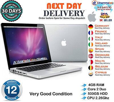 "Apple MacBook Pro 13"" A1278 intel Core 2 Duo 2.26GHz 4GB RAM 500GB HDD Late 2009 d'occasion  Expédié en Belgium"