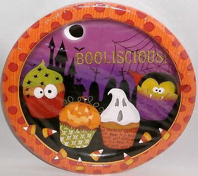 Halloween Poly Coated Plates 8 Ct. 9