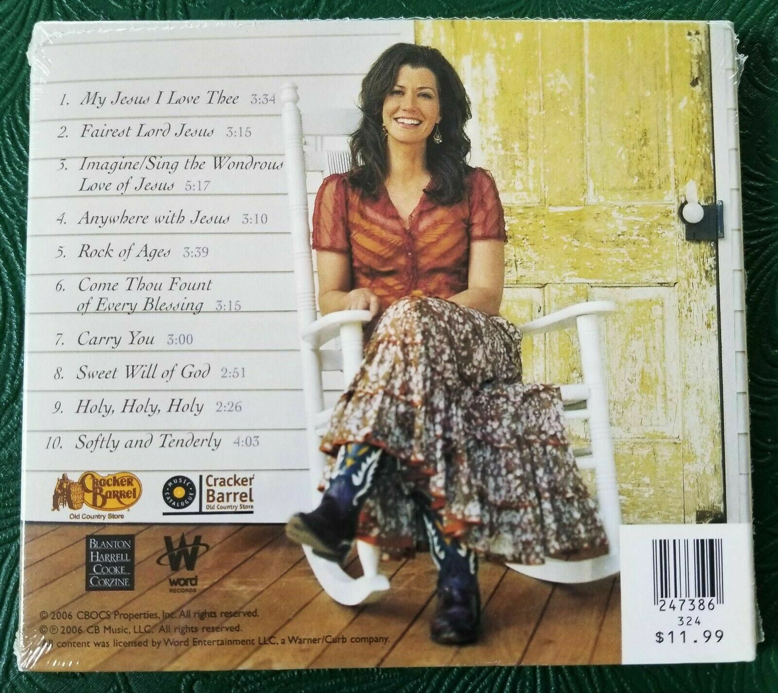 Amy Grant HYMNS FOR THE JOURNEY New, SS 2006 CD  - $39.99