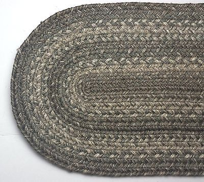 Grey Table Runners (Homespice Decor PEWTER Gray Braided Jute 8