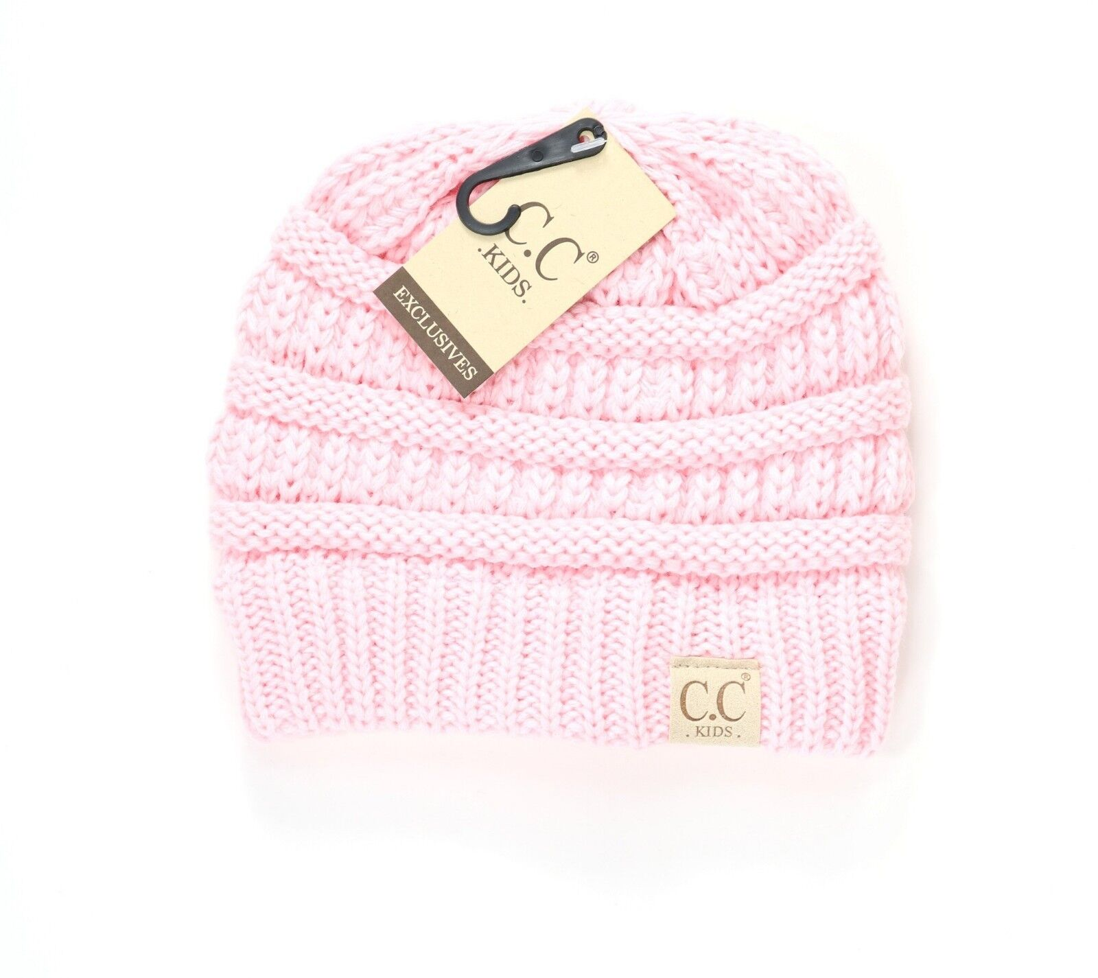 92922ad73 Authentic CC Kids Beanie Hats Baby Toddler Ribbed Knit Children Winter Cap