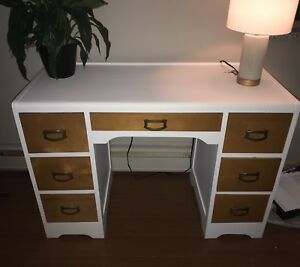 Recently painted antique desk