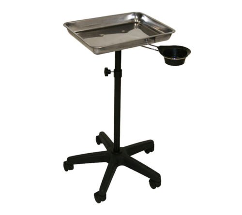 Stainless Steel Tray Removable Utility Cup Ink Bed Salon Beauty Spa Equipment