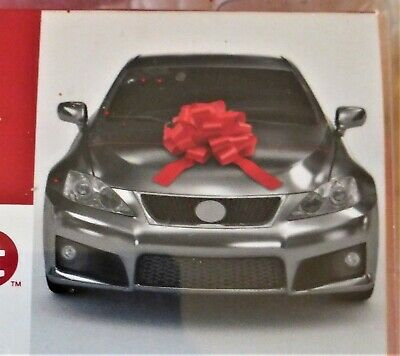 Mega Car Bow Ribbon RED for Cars, Bikes, Big Birthday Gifts 18
