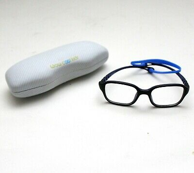 Toddler Fashion Glasses WOW COOL KIDS Safe Black Flex Frame Blue Strap NEW (Toddler Fashion Glasses)