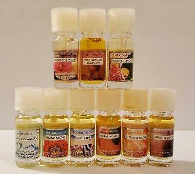 Bath & Body Works White Barn Candle Slatkin & Co. Home Fragrance Oil You Pick Candle Home Fragrance Oil