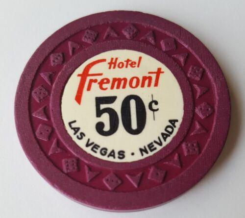 .50 Las Vegas Fremont Hotel Vintage Casino Chip - Near Mint