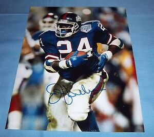 NY-Giants-Ottis-OJ-Anderson-Signed-Autographed-8x10-Photo-Super-Bowl-Champs-B