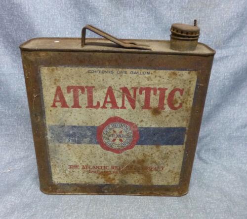 Antique/Vintage Atlantic 1 Gallon Oil Can