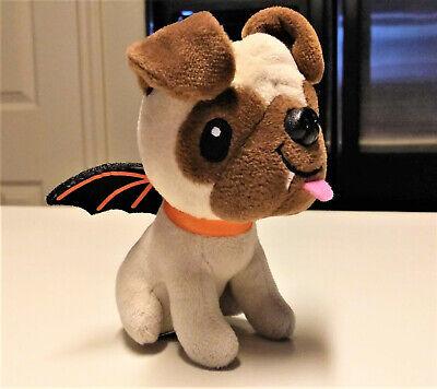 Hallmark Halloween Puppy Dog in Bat Costume Mini Plush Figure Doll Dracula
