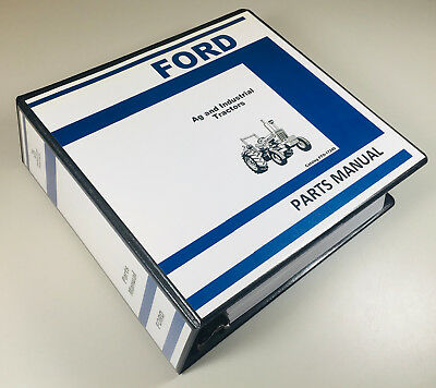 Ford 2600 3600 4600 6600 7600 Tractor Ag Industrial Parts Manual Catalog
