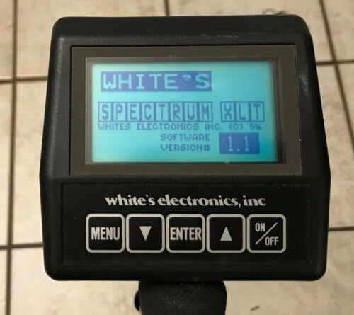 Whites spectrum XLT Metal Detector - Made in USA.