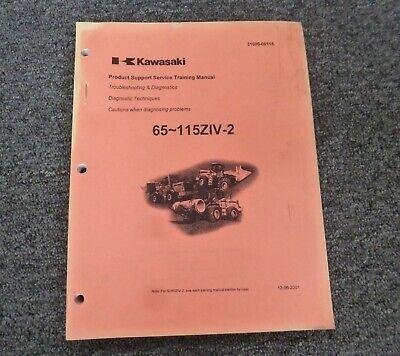Kawasaki 80ziv-2 Wheel Loader Troubleshooting Diagnostics Shop Service Manual