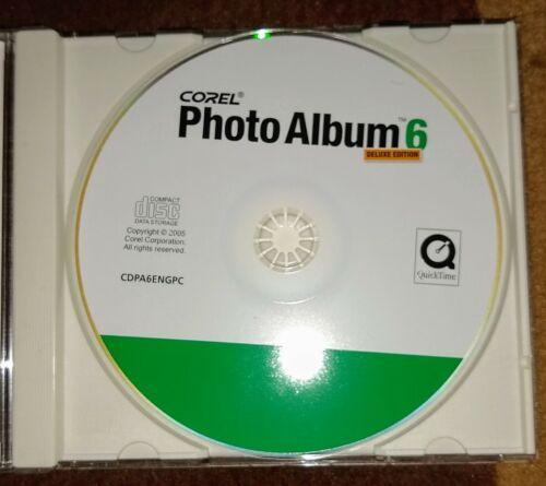 Corel Photo Album 6 Deluxe Edition Pc Software