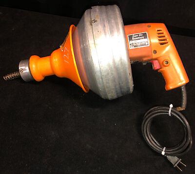 Super-vee Generals Handylectric Drain Cleaner Serial 4sh0636 120v