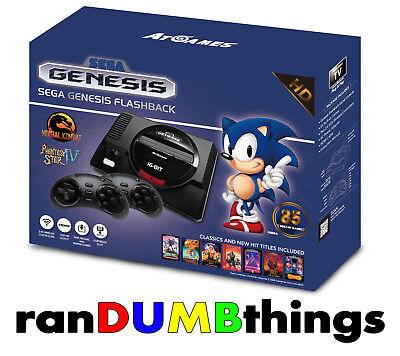 Sega Genesis Flashback Console 85 Games 2017 HD Edition