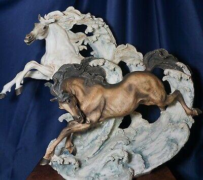 """Giuseppe Armani """"WILD HEARTS"""" Figurine LE # 81 of 3000Horses Art Decor"""