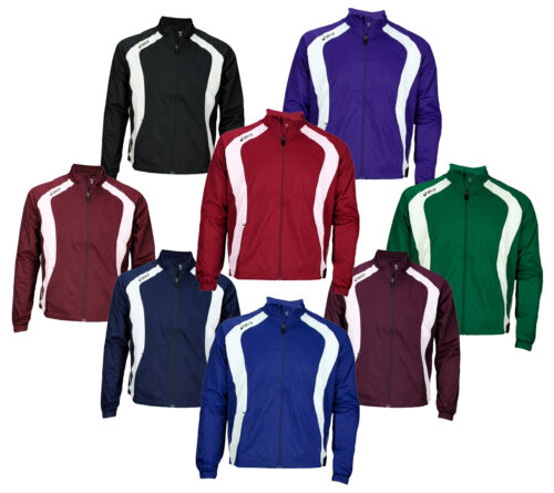 Asics Caldera Men's Athletic Windbreaker Warm Up Jacket, Sev