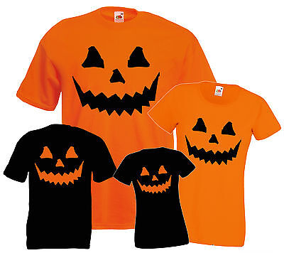 Halloween T SHIRTS  Costume T-SHIRT Pumpkin cheap tee Fancy Dress MEN WOMEN KIDS - Cheap Kids Fancy Dress Costumes