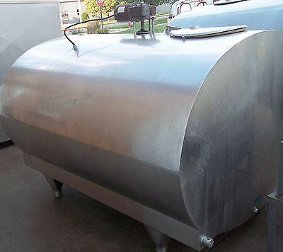 Mueller 700 O 38852 Stainless Steel Bulk Milk Cooling Farm Tank