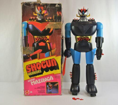 "Shogun Warriors Great Mazinga 24"" Plastic Robot Toy Mattel 1970s Bandai Japan"