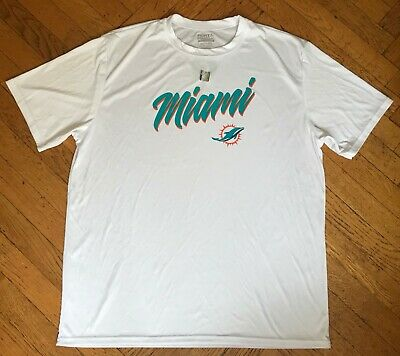 NEW MIAMI DOLPHINS WHITE SHIRT/SPECIAL ISSUE-NOT AVAILABLE IN STORES/NFL (Miami Dolphin Store)