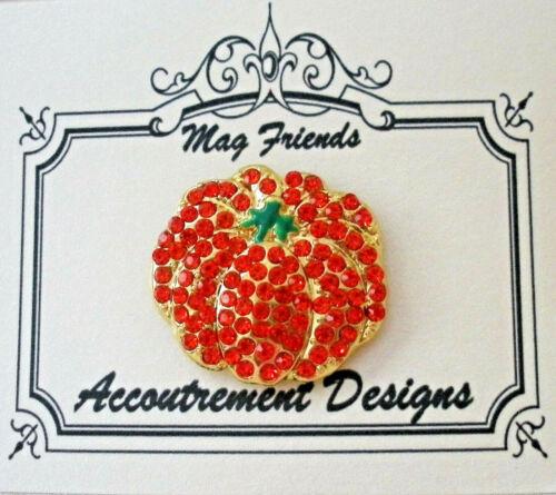 Needle Minder Magnet Pumpkin Accoutrement Designs Cross Stitch