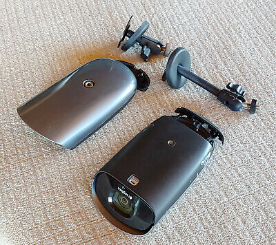Logitech Alert 700e IP Network Color Security Camera w Night Vision (Lot of 2)