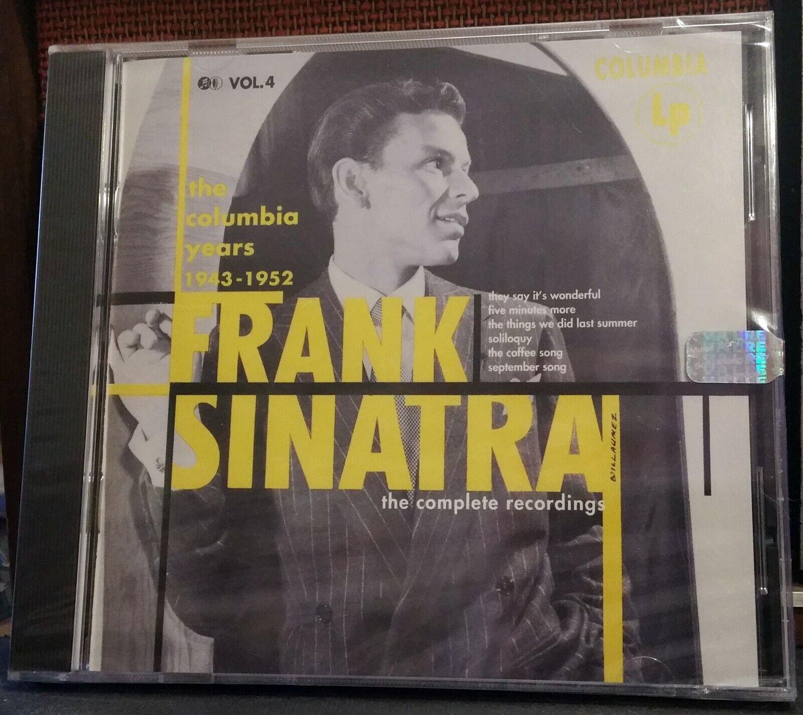 FRANK SINATRA The Columbia Years 1943-1952 Volume 4 CD, 1993, Columbia  - $6.99