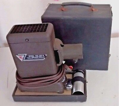 TDC THREE DIMENSION CO. 35MM Slide Projector model 300A w/ Case 35 Mm Slide Dimensions