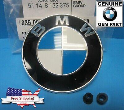 GENUINE BMW Hood Roundel Emblem Badge OEM series  E90 E91 E92 E93