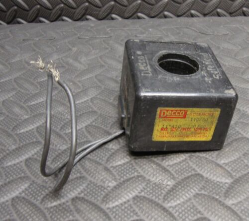 Decco 11-43B Solenoid Coil Used