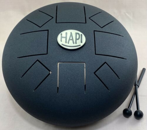 HAPI Slim Steel Tongue Percussion Hand Metal Drum, C-Major. B84