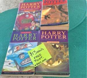 Harry Potter Books by JK Rowling paperback