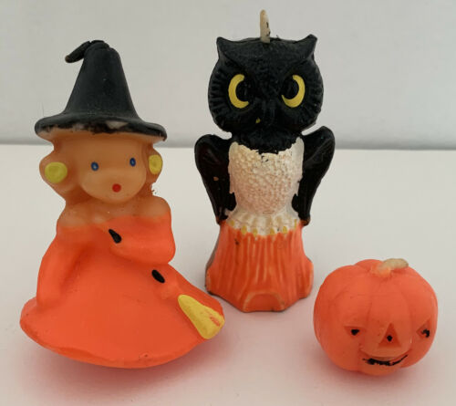 Vintage Gurley Halloween Candles