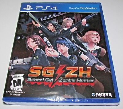School Girl Zombie Hunter PS4 US ENGLISH REGION FREE NEW SEALED from Europe