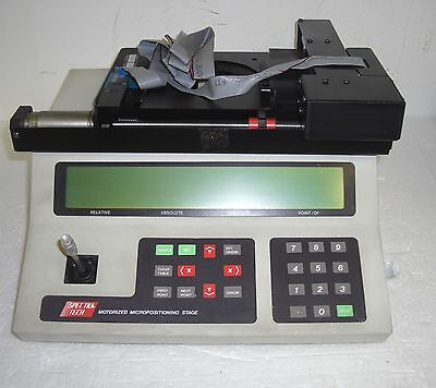 Spectra Tech Motorized Micropositioning 0042-445 12-4626 Stage