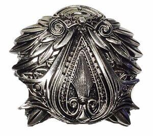 Assassin's Creed Brotherhood EZIO Pewter Finish Belt Buckle (Fantastic Quality!)