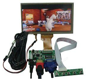 HDMI-VGA-2AV-Driver-controller-board-7-inch-800-480-Lcd-touch-panel-TFT