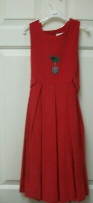 Hartstrings Red Jumper & Matching Blouse size 8