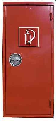 Stahlblechschutzschrank Extintor Con Extintor Símbolo Armario Rojo