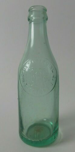 Great Antique Soda Bottle - MERCER BOTTLING CO., Trenton, NJ - Crown Cola
