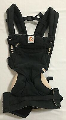 Ergo Baby Infant Sling Ergobaby Four Position 360 Black & Camel Baby Carrier